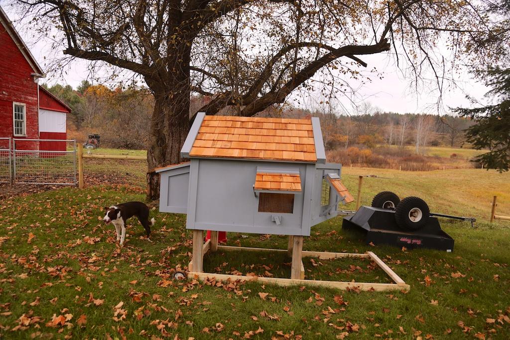 The Bedlam Farm Rolling Chicken Coop Bedlam Farm Journal