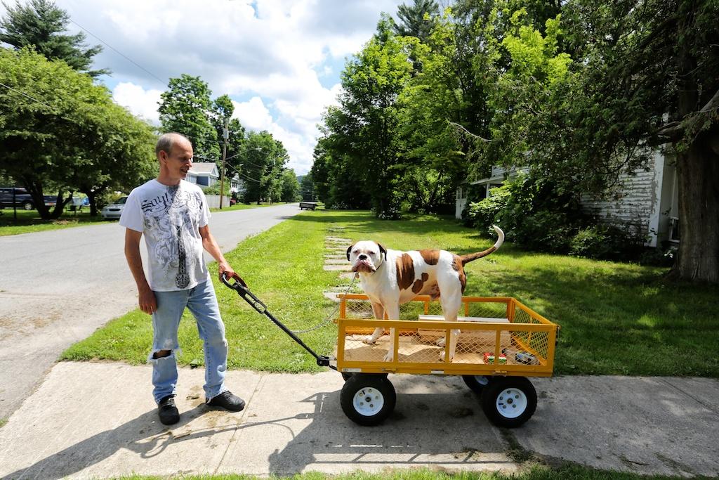Men Who Love Dogs Diablo S Wagon Bedlam Farm Journal