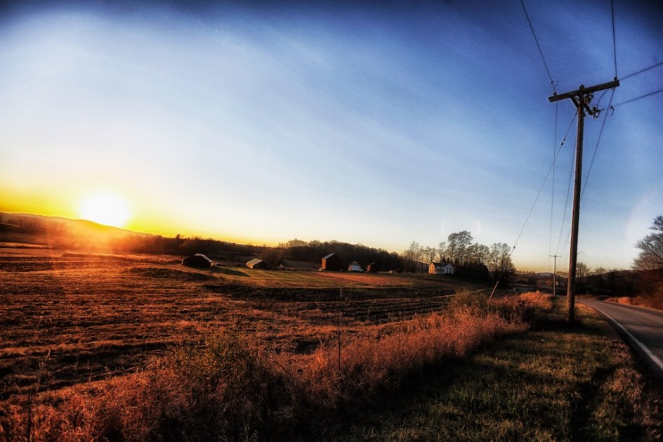 White Creek Sunset, Thursday