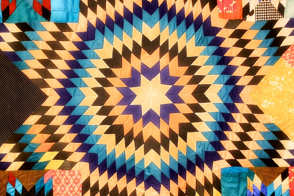 In New York The Gees Bend Quilts Bedlam Farm