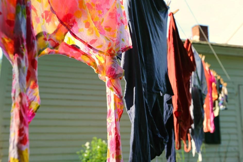 Clothesline Art