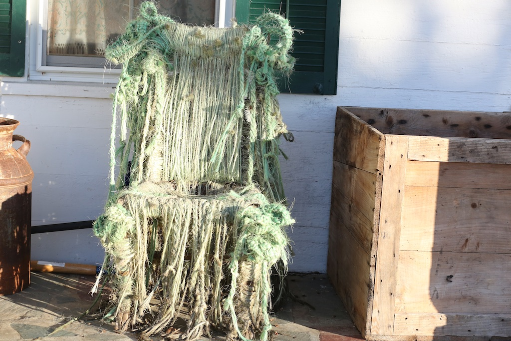 the fiber chair art and life bedlam farm