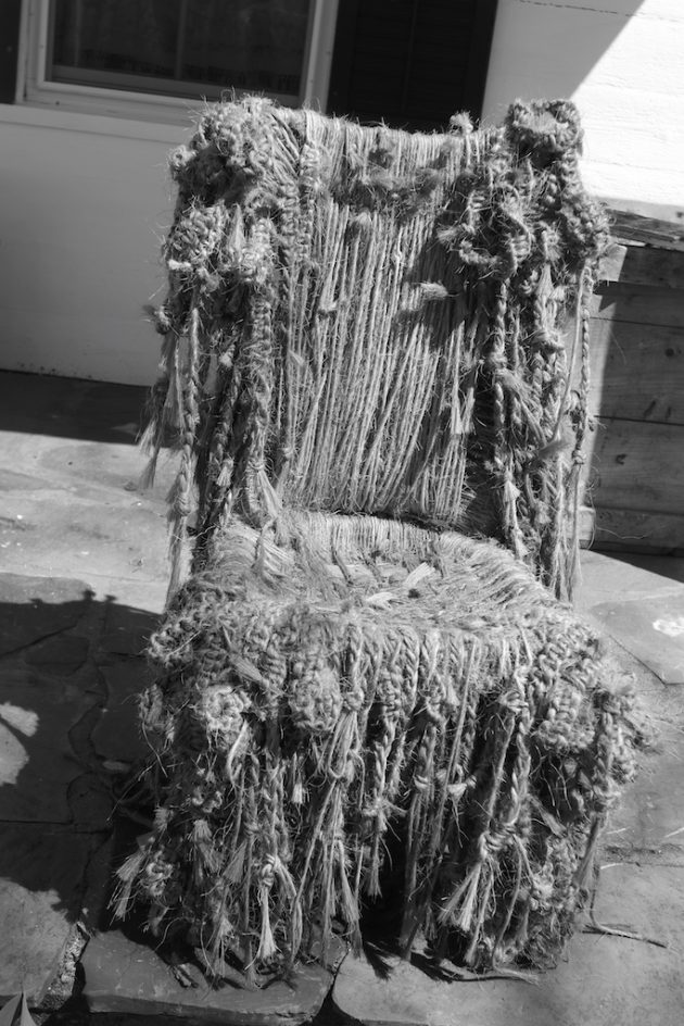 Honoring The Fiber Chair