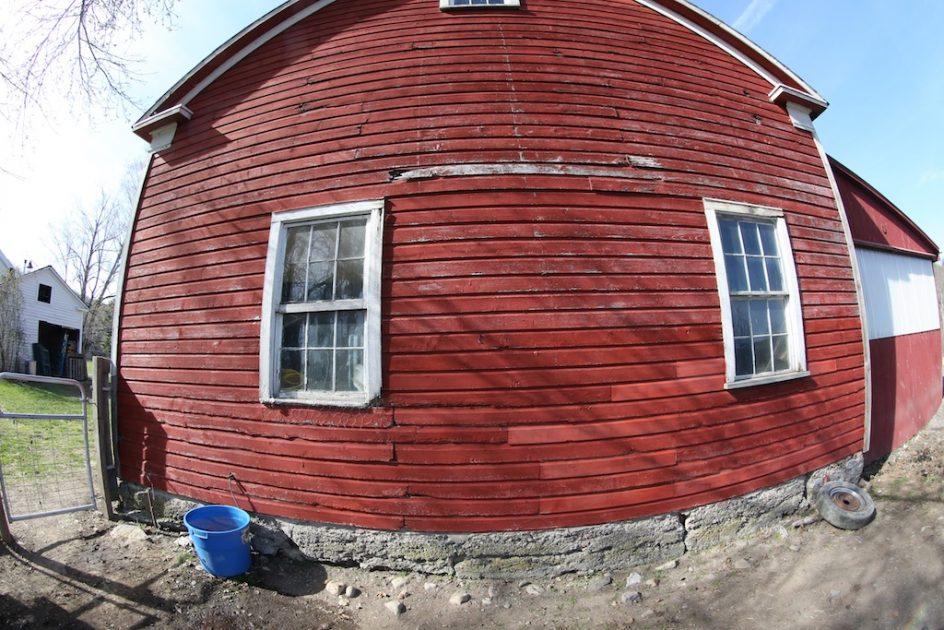 Painting The Big Barn