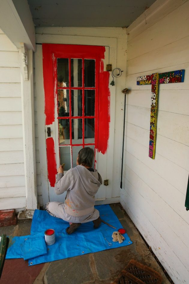 Painting The Doors