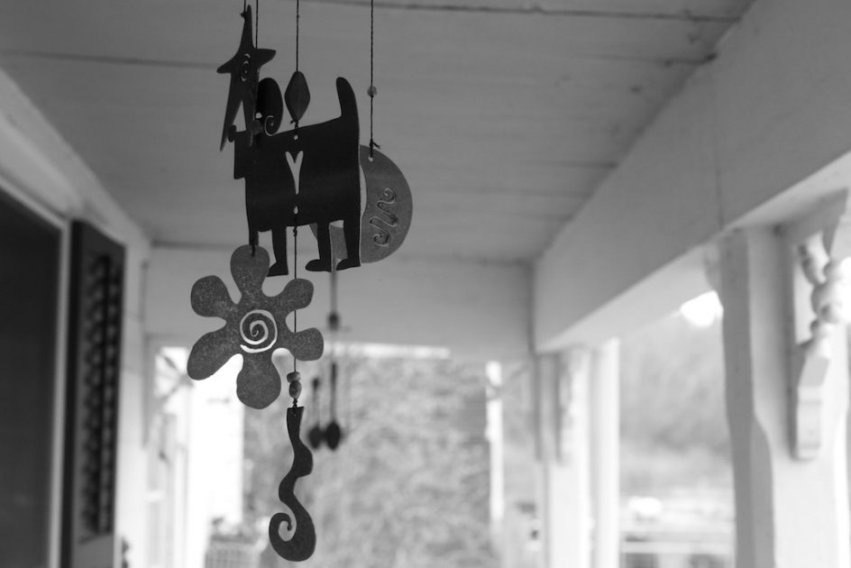 Wind Chime, Back Porch