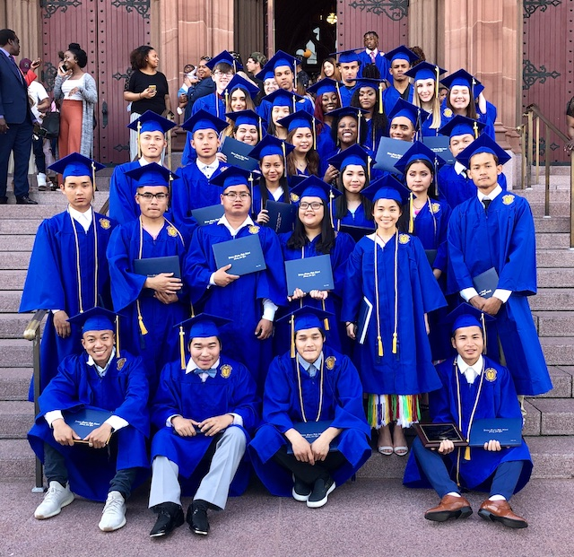 Graduation Day At Bishop Maginn: The Faces Of America - Bedlam Farm